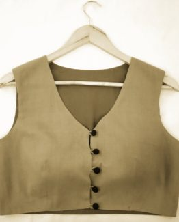 Blouse Guru Waist Coat Design 1